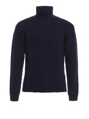 DRUMOHR: maglia a collo alto e polo - Dolcevita in lana supergeelong