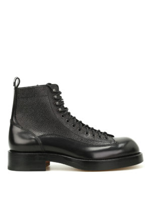Dsquared2: ankle boots - Dan in Japan leather booties