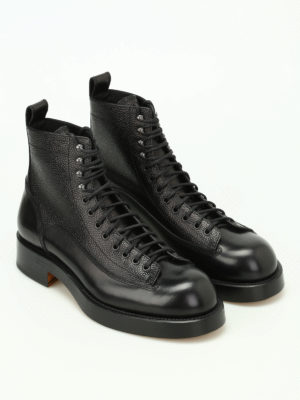 Dsquared2: ankle boots online - Dan in Japan leather booties