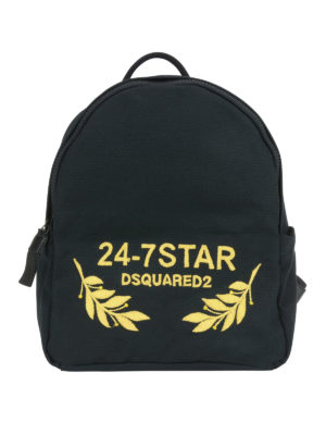 Dsquared2: backpacks - 24-7 canvas backpack
