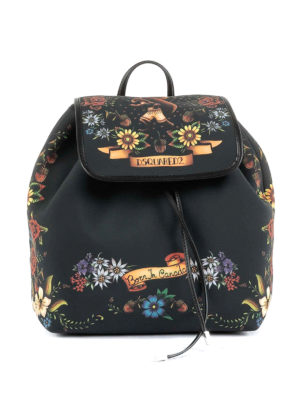 Dsquared2: backpacks - Alberta tattoo print backpack