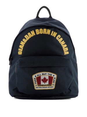 Dsquared2: backpacks - Canadian Flag dome backpack