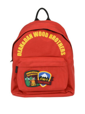 Dsquared2: backpacks - Dean&Dan Wood Brothers backpack