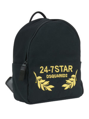 Dsquared2: backpacks online - 24-7 canvas backpack