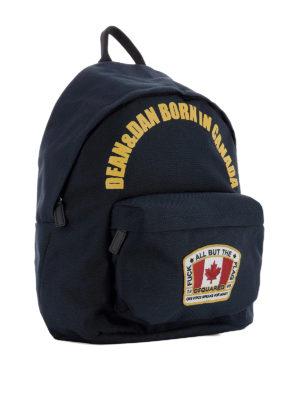 Dsquared2: backpacks online - Canadian Flag dome backpack
