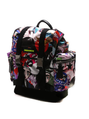 Dsquared2: backpacks online - Twin-brother nylon backpack