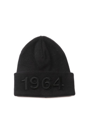 Dsquared2: beanies - Knitted wool beanie