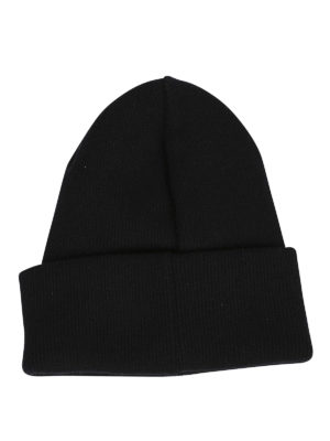 Dsquared2: beanies online - Japanese logo patch beanie
