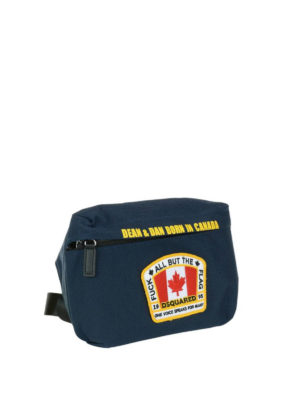 Dsquared2: belt bags online - Dean&Dan canvas belt bag