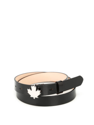 Dsquared2: belts - Black patent belt