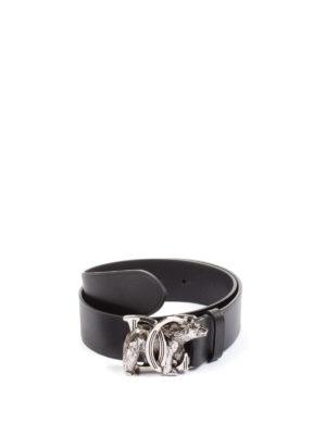 Dsquared2: belts - DC Bear leather belt