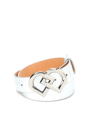 Dsquared2: belts - DD leather belt
