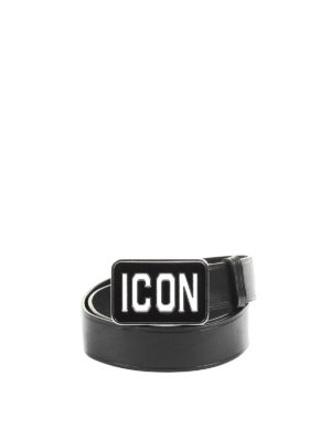 Dsquared2: belts - Icon leather belt