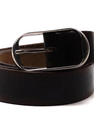 Dsquared2: belts online - Aged woven leather belt