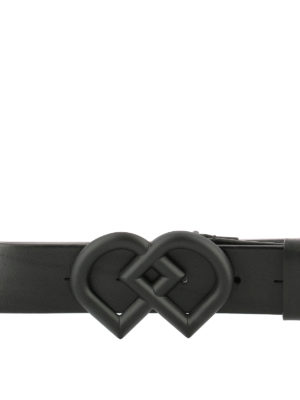 Dsquared2: belts online - DD black leather belt