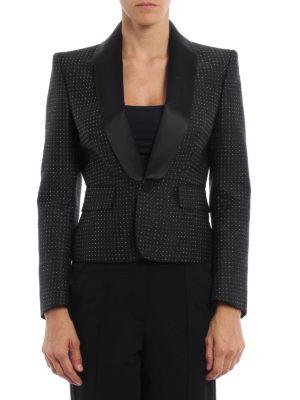 Dsquared2: blazers online - Smoking style short blazer