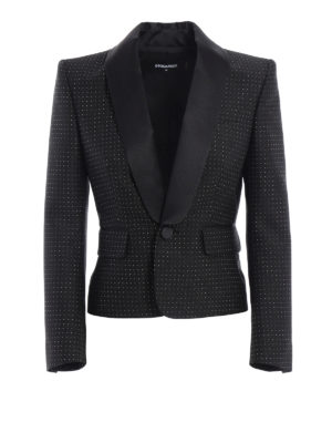 Dsquared2: blazers - Smoking style short blazer