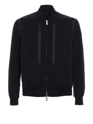 Dsquared2: bombers - Wool and techno fabric bomber