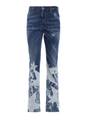 Dsquared2: bootcut jeans - Los Angeles jeans