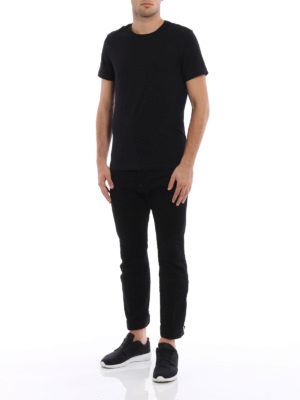 Dsquared2: bootcut jeans online - Biker Sky cropped jeans