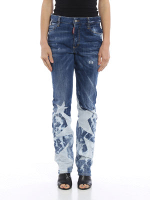 Dsquared2: bootcut jeans online - Los Angeles jeans