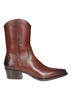 DSQUARED2: stivali - Stivali Hippie Cowboy Arizona in pelle