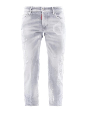 DSQUARED2: Boyfriend - Jeans boyfriend Fade To Grey