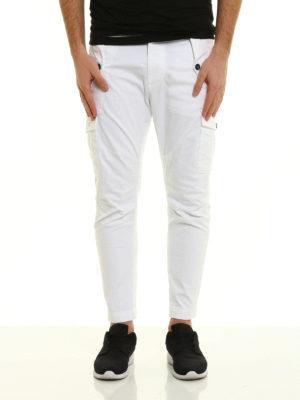 Dsquared2: Boyfriend online - Over fit cargo jeans