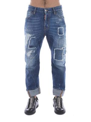 Dsquared2: Boyfriend online - Work Wear distressed jeans
