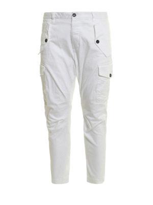 Dsquared2: Boyfriend - Over fit cargo jeans