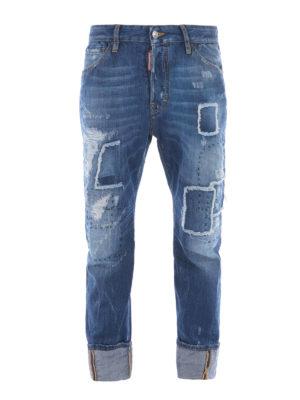 Dsquared2: Boyfriend - Work Wear distressed jeans