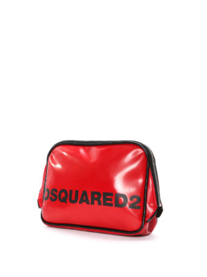 Dsquared2: Cases & Covers online - Faux leather logo pouch