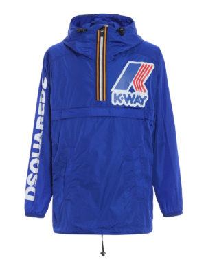 Dsquared2: casual jackets - Co-branding K-way windbreaker