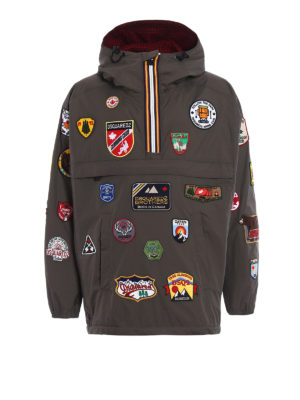 Dsquared2: casual jackets - K-Way patch reversible windbreaker