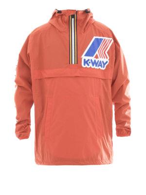 Dsquared2: casual jackets - K-Way reversible short windbreaker