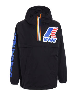 Dsquared2: casual jackets - K-Way reversible windbreaker