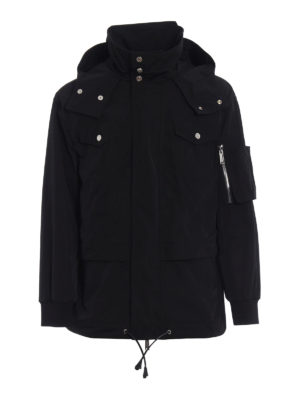 Dsquared2: casual jackets - Nylon twill technical jacket