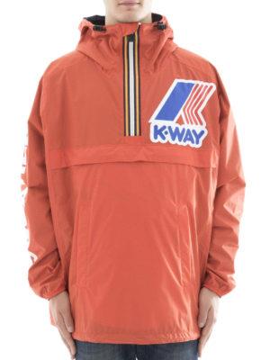 Dsquared2: casual jackets online - K-Way reversible short windbreaker