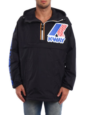 Dsquared2: casual jackets online - K-Way reversible windbreaker