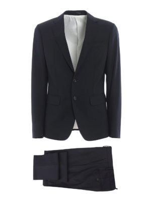Dsquared2: casual suits - Manchester wool jacquard suit