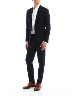 Dsquared2: casual suits online - Manchester wool jacquard suit