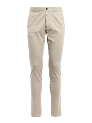 Dsquared2: casual trousers - Cotton chino trousers