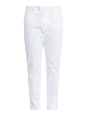 Dsquared2: casual trousers - Cotton drill trousers