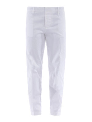 Dsquared2: casual trousers - Cotton twill trousers