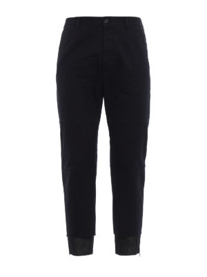 Dsquared2: casual trousers - Denim detailed casual trousers