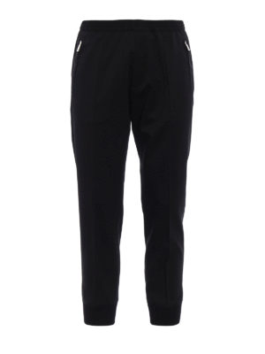 Dsquared2: casual trousers - Elasticated bottom wool trousers