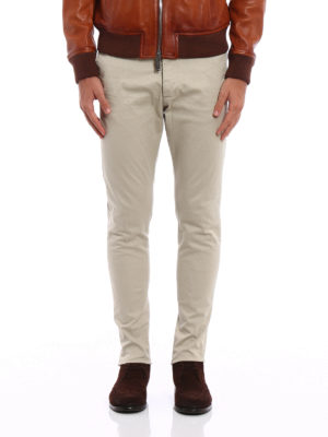 Dsquared2: casual trousers online - Cotton chino trousers