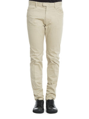 Dsquared2: casual trousers online - Cotton drill trousers