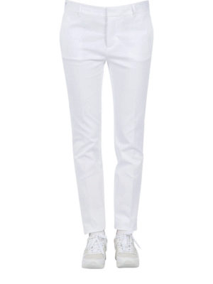 Dsquared2: casual trousers online - Stretch cotton trousers