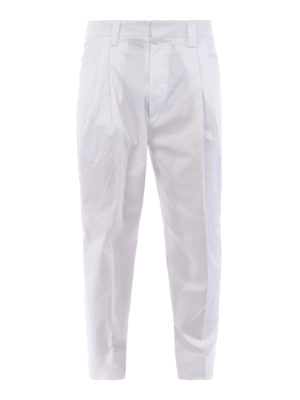 DSQUARED2: casual trousers - Stretch cotton pants